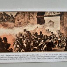 Postales: LOTE DE 8 TARJETAS POSTALES EDITADAS EN 1908 CENTENARIO GUERRA INDEPENDENCIA MADRID. Lote 253642250