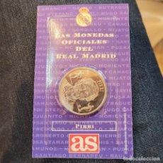 Postales: MONEDA OFICIAL REAL MADRID PIRRI. Lote 253858990