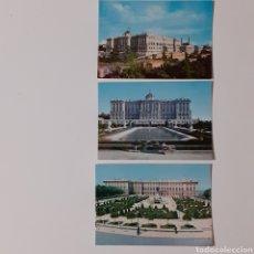 Postales: 3 PEQUEÑAS POSTALES DE MADRID (7 × 10 CM C.U.) FOTO GARCIA GARRABEITIA Y CIA.. Lote 254099990