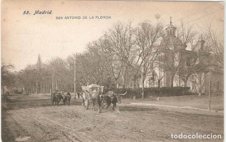 MADRID 55 SAN ANTONIO DE LA FLORIDA LACOSTE S.C. (Postales - España - Comunidad de Madrid Antigua (hasta 1939))