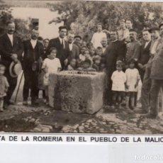 Postales: MADRID.-PUEBLO DE LA MALICIOSA, SIN CIRCULAR, JMOLINA1946. Lote 254332130