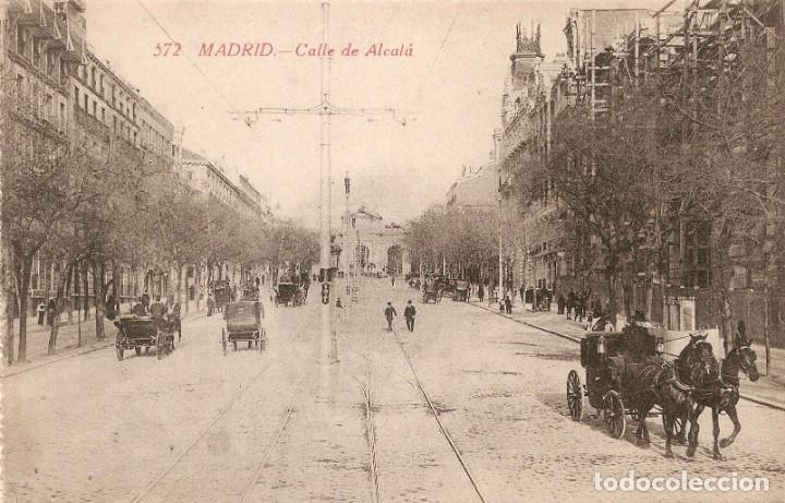 MADRID Nº 572 CALLE DE ÁLCALA CASYAÑEIRA SIN CIRC. (Postales - España - Comunidad de Madrid Antigua (hasta 1939))