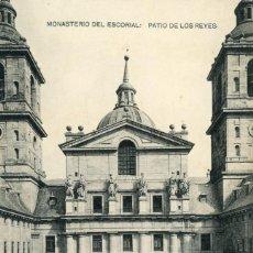 Postales: POSTAL. MONASTERIO DEL ESCORIAL. PATIO DE LOS REYES. HAUSER Y MENET. Lote 254437065