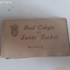 Postales: BLOCK CON 14 POSTALES ANTIGUAS DEL REAL COLEGIO DE SANTA ISABEL,MADRID.. Lote 254511915