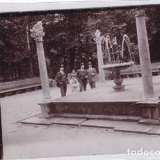 Postales: POSTAL FOTOGRÁFICA ARANJUEZ FUENTE DEL NIÑO DE LA ESPINA. SIN CIRCULAR.. Lote 259838225