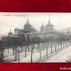Postales: POSTAL EL ESCORIAL - VISTA DE LEVANTE. Lote 260395955