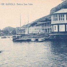 Cartes Postales: GIRONA, SAN FELIU DE GUIXOLS, BAÑOS SAN TELM. ED. FOTOTIPIA THOMAS Nº 8. SIN CIRCULAR. Lote 260574170