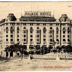 Postales: MADRID - PALACE HOTEL - 800 CHAMBRES - 800 SALLES DE BAINS - TIPOLITOGRAFÍA PÉANT - 140X91MM.. Lote 261213850