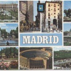 Postales: Nº 136-MADRID. DIVERSOS ASPECTOS. ED. DOMÍNGUEZ. Lote 261588750