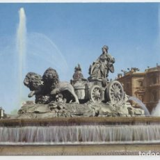 Postales: Nº 206-MADRID. LA CIBELES. CIRCULADA EN 1969. ED. DOMÍNGUEZ. Lote 261589555