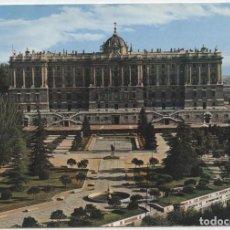 Postales: Nº 288-MADRID. FACHADA NORTE DEL PALACIO REAL. CIRCULADA EN 1972. ED. GARCÍA GARRABELLA. Lote 261589980
