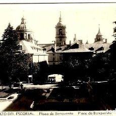 Postales: SAN LORENZO DEL ESCORIAL - PLAZA DE BENAVENTE - ROISIN Nº 3 - 140X92MM. INÉDITA EN TODOCOLECCIÓN. Lote 261835460