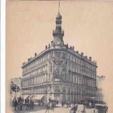 Postales: MADRID, LA EQUITATIVA. ED. HAUSER Y MENET Nº 86. REVERSO SIN DIVIDIR. SIN CIRCULAR. Lote 261853090