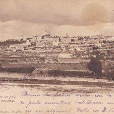 Postales: MADRID, VISTA GENERAL. ED. HAUSER Y MENET Nº 1134. REVERSO SIN DIVIDIR. CIRCULADA EN 1903. Lote 261856075