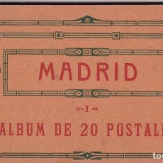 Postales: MADRID. BLOC COMPLETO CON 20 POSTALES. ED. HAUSER Y MENET, S.G.E.L.. Lote 262103880