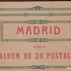 Postales: MADRID. BLOC COMPLETO CON 20 POSTALES. ED. HAUSER Y MENET, S.G.E.L.. Lote 262104435