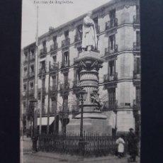 Cartes Postales: POSTAL MADRID - ESTATUA DE ARGUELLES - CIRCULADA 1918. Lote 262146105