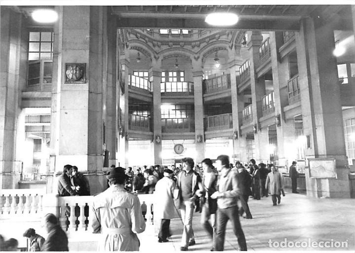 MADRID. 1970 EDIFICIO DE CORREOS. REPORTAJE FOTOGR´FAICO CON 28 FOTOGRAFÍAS DE 18 X 12,5 CMS. (Postales - España - Madrid Moderna (desde 1940))