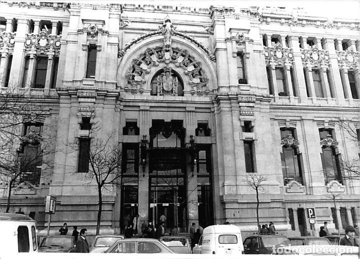Postales: MADRID. 1970 EDIFICIO DE CORREOS. REPORTAJE FOTOGR´FAICO CON 28 FOTOGRAFÍAS DE 18 X 12,5 CMS. - Foto 23 - 262260295
