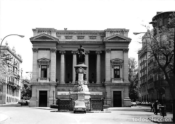 MADRID. 1970 MUSEO DE REPRODUCCIONES ARTÍSTICAS. RE`PORTAJE FOTOGRÁFICO DEL EXTERIOR Y ENTORNO. (Postales - España - Madrid Moderna (desde 1940))