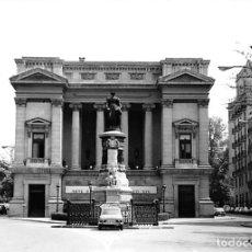Postales: MADRID. 1970 MUSEO DE REPRODUCCIONES ARTÍSTICAS. RE`PORTAJE FOTOGRÁFICO DEL EXTERIOR Y ENTORNO.. Lote 262260655