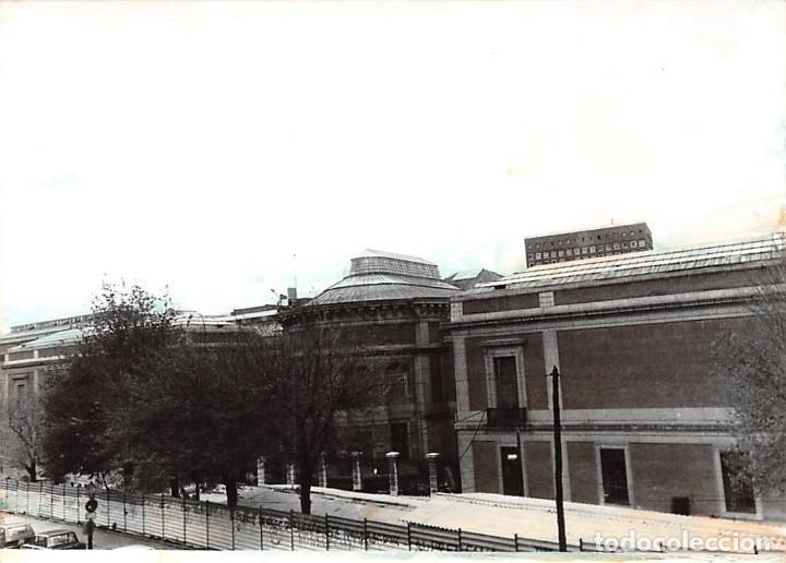 Postales: MADRID. 1970 MUSEO DE REPRODUCCIONES ARTÍSTICAS. RE`PORTAJE FOTOGRÁFICO DEL EXTERIOR Y ENTORNO. - Foto 2 - 262260655