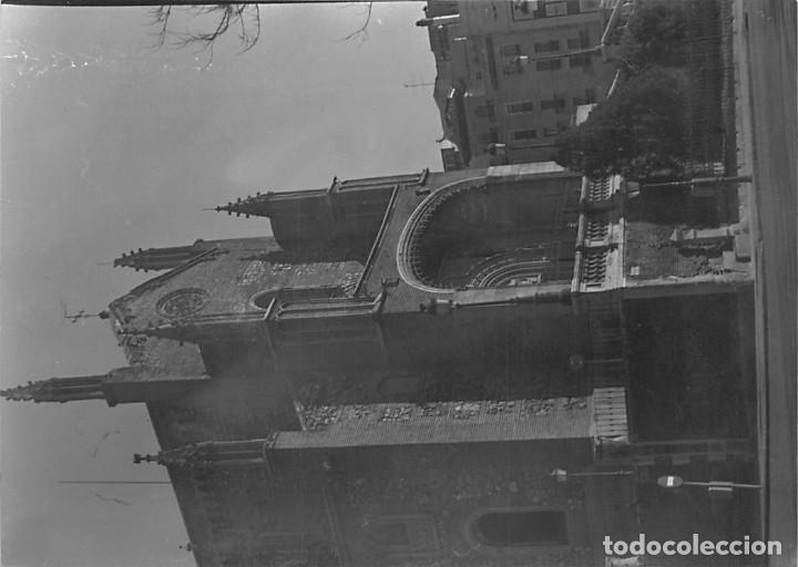 Postales: MADRID. 1970 MUSEO DE REPRODUCCIONES ARTÍSTICAS. RE`PORTAJE FOTOGRÁFICO DEL EXTERIOR Y ENTORNO. - Foto 3 - 262260655