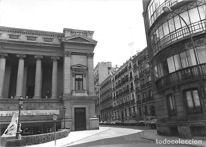 Postales: MADRID. 1970 MUSEO DE REPRODUCCIONES ARTÍSTICAS. RE`PORTAJE FOTOGRÁFICO DEL EXTERIOR Y ENTORNO. - Foto 5 - 262260655