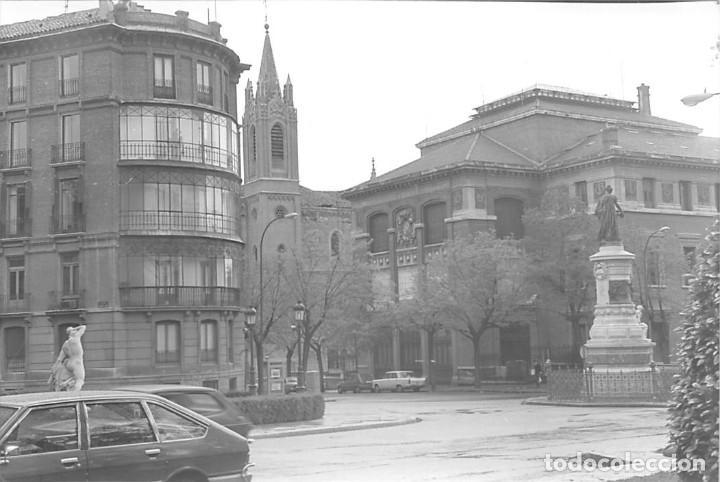 Postales: MADRID. 1970 MUSEO DE REPRODUCCIONES ARTÍSTICAS. RE`PORTAJE FOTOGRÁFICO DEL EXTERIOR Y ENTORNO. - Foto 6 - 262260655