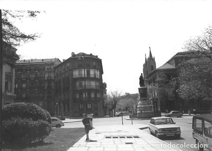 Postales: MADRID. 1970 MUSEO DE REPRODUCCIONES ARTÍSTICAS. RE`PORTAJE FOTOGRÁFICO DEL EXTERIOR Y ENTORNO. - Foto 7 - 262260655