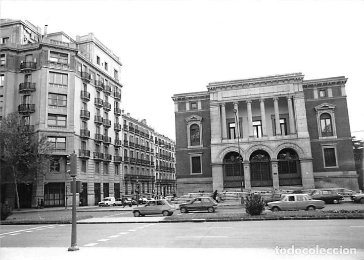 Postales: MADRID. 1970 MUSEO DE REPRODUCCIONES ARTÍSTICAS. RE`PORTAJE FOTOGRÁFICO DEL EXTERIOR Y ENTORNO. - Foto 8 - 262260655