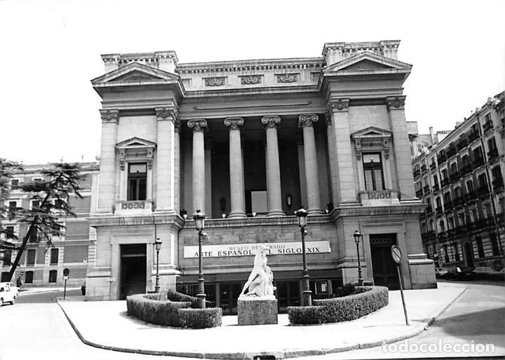 Postales: MADRID. 1970 MUSEO DE REPRODUCCIONES ARTÍSTICAS. RE`PORTAJE FOTOGRÁFICO DEL EXTERIOR Y ENTORNO. - Foto 11 - 262260655