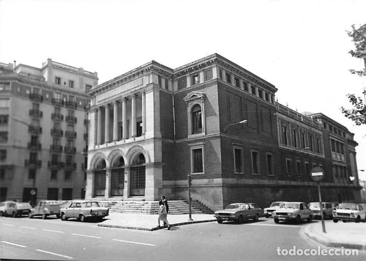 Postales: MADRID. 1970 MUSEO DE REPRODUCCIONES ARTÍSTICAS. RE`PORTAJE FOTOGRÁFICO DEL EXTERIOR Y ENTORNO. - Foto 12 - 262260655
