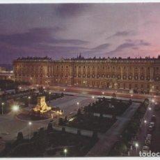 Postales: Nº 132-MADRID. PLAZA DE ORIENTE Y PALACIO REAL. CIRCULADA EN 1981. ED. DOMÍNGUEZ. Lote 262282325