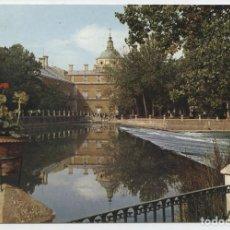 Postales: Nº 65-ARANJUEZ. MADRID. PRESA DEL JARDÍN DE LA ISLA. ESCRITA EN 1967. EDITORIAL PATRIMONIO NACIONAL. Lote 262283490