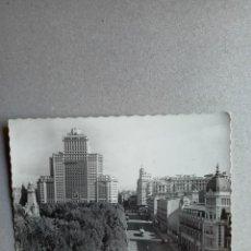 Postales: POSTAL ANTIGÜA DE PLAZA DE ESPAÑA - MADRID-. Lote 262295265