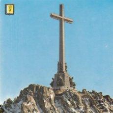 Postales: SANTA CRUZ DEL VALLE DE LOS CAIDOS: VISTA DE LA CRUZ NEVADA.. Lote 262302325