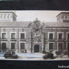 Postales: MADRID-FACHADA DEL HOSPICIO-FOTO HAUSER Y MENET-FOTOGRAFIA ANTIGUA-(80.539). Lote 262623855