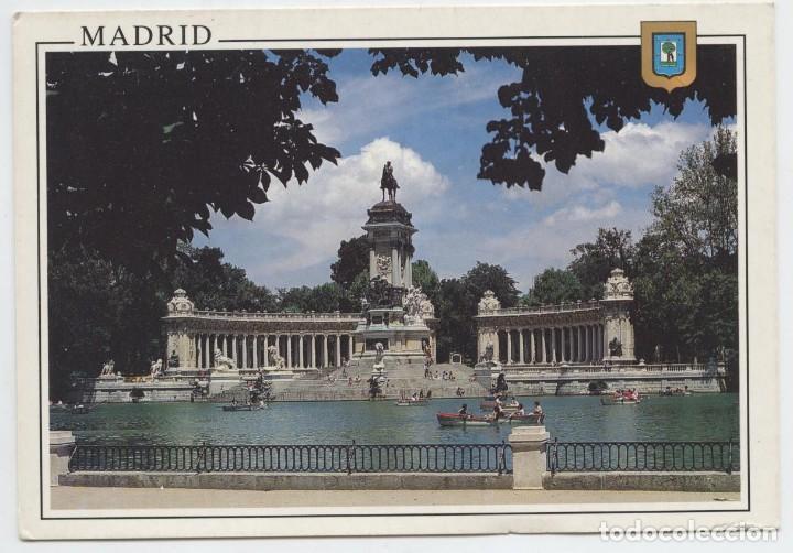 Nº 74-MADRID. ESTANQUE DEL RETIRO. SIN CIRCULAR. ED. L. DOMÍNGUEZ (Postales - España - Madrid Moderna (desde 1940))