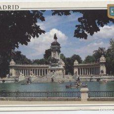 Postales: Nº 74-MADRID. ESTANQUE DEL RETIRO. SIN CIRCULAR. ED. L. DOMÍNGUEZ. Lote 262920700