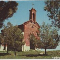 Postales: EL MOLAR. MADRID. ERMITA DE SAN ISIDRO. SIN CIRCULAR. 1977. ED. AZUL. Lote 262921095