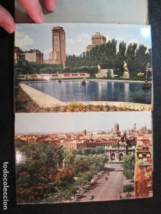 Postales: MADRID-BLOC CON 14 POSTALES-HAE-CAMPO FUTBOL SANTIAGO BERNABEU-VER FOTOS-(80.636) - Foto 4 - 262938915
