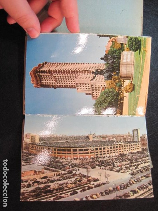 Postales: MADRID-BLOC CON 14 POSTALES-HAE-CAMPO FUTBOL SANTIAGO BERNABEU-VER FOTOS-(80.636) - Foto 7 - 262938915