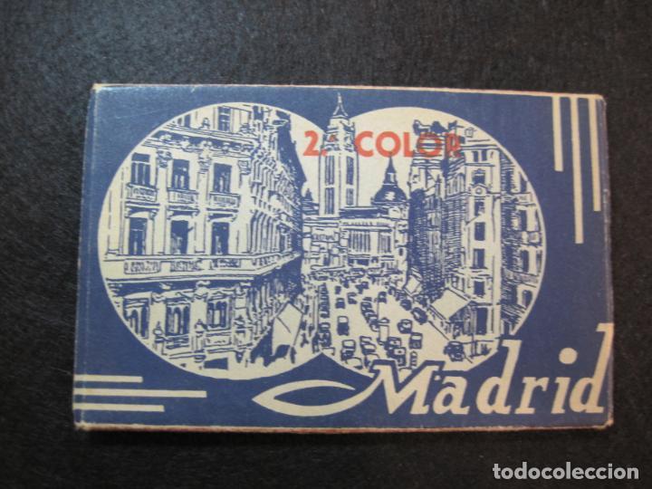 MADRID-BLOC CON 14 POSTALES-HAE-CAMPO FUTBOL SANTIAGO BERNABEU-VER FOTOS-(80.636) (Postales - España - Madrid Moderna (desde 1940))