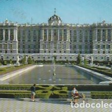 Postales: ESPANA & CIRCULADO, MADRID, FACHADA NORTE DEL PALACIO REAL, LISBOA PORTUGAL 1963 (15). Lote 262961285