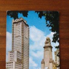 Postales: POSTAL MADRID PLAZA DE ESPAÑA. Lote 262994175