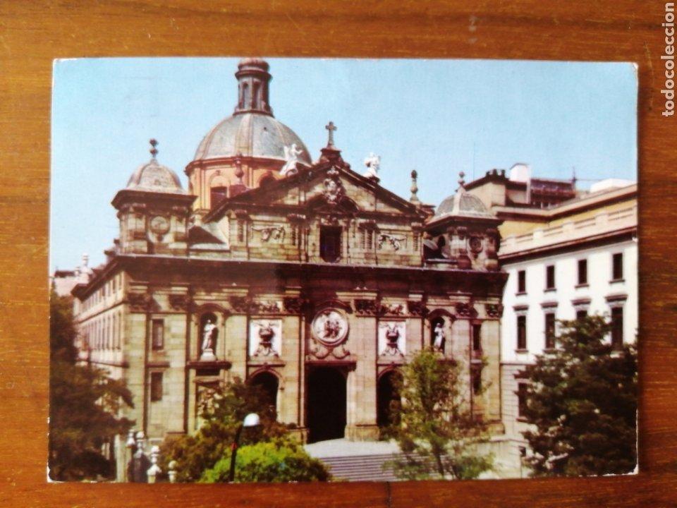 POSTAL MADRID IGLESIA SANTA BARBARA (Postales - España - Madrid Moderna (desde 1940))