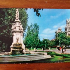 Postales: POSTAL MADRID FUENTE DE APOLO Y PALACIO DE COMUNICACIONES. Lote 262994910