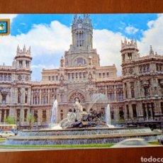 Postales: POSTAL MADRID. LA CIBELES Y PALACIO DE TELECOMUNICACIONES. SIN CIRCULAR.. Lote 263010645