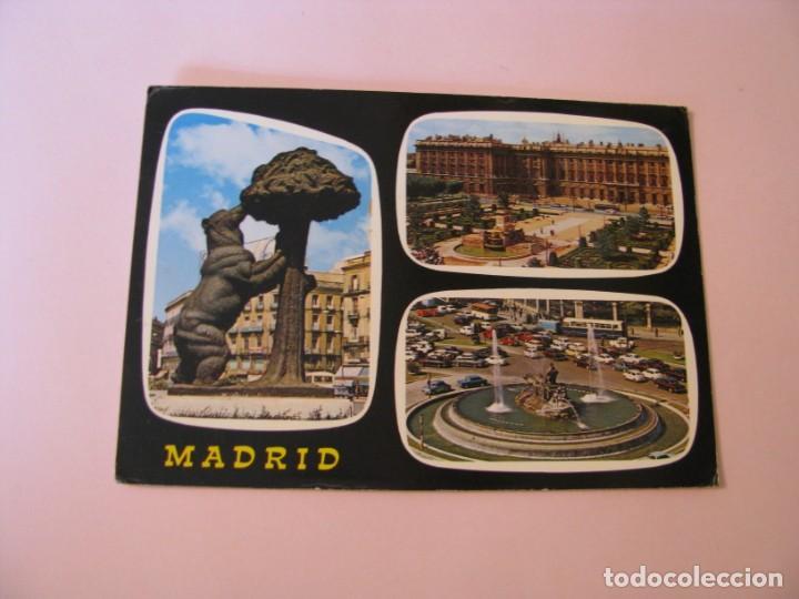 POSTAL DE MADRID. BELLEZAS DE LA CIUDAD. GARCIA GARRABELLA. CIRCULADA. (Postales - España - Madrid Moderna (desde 1940))